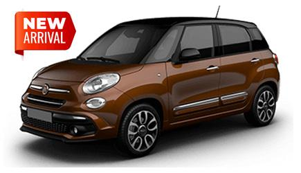 FIAT 500L RENTAL CAR CAGLIARI